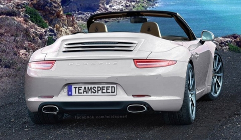 Rendering Porsche 991 Carrera Cabriolet by Wild-Speed
