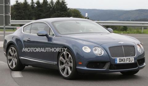 Spyshots 2012 Bentley Continental GT Speed Facelift