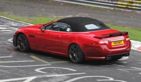 Spyshots 2012 Jaguar XKR Convertible 01