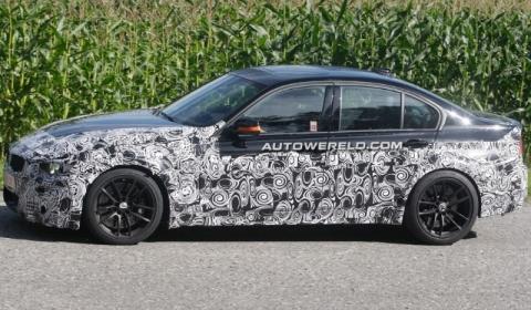 Spyshots 2014 BMW F32 M3 Test Mule 01