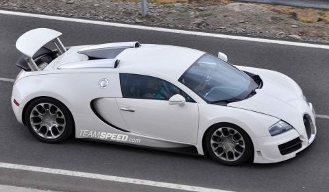 Spyshots Bugatti Veyron 16.4 Grand Sport Super Sport