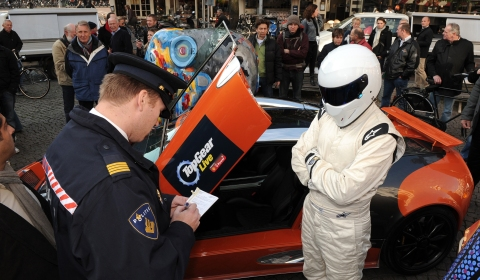 The Stig in Amsterdam 01