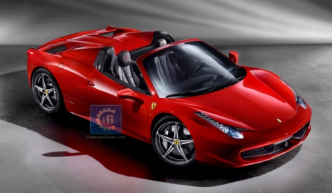 This is the 2012 Ferrari 458 Spider
