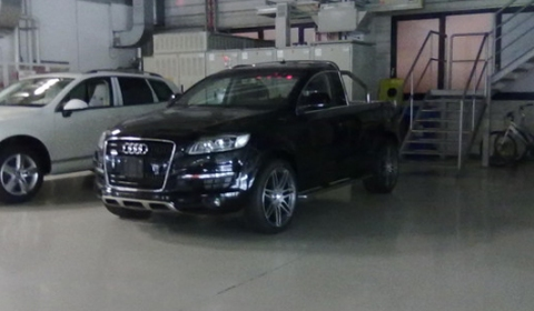 Three New Pictures Audi Q7 Pickup