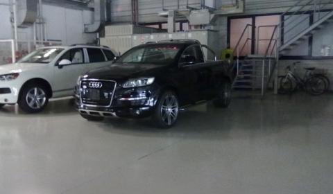 Three New Pictures Audi Q7 Pickup 01