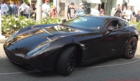 Video 2011 Zagato Perana Z-One in Action