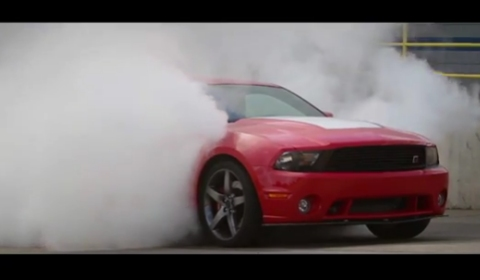 Video 2012 Roush Stage 3 Mustang Burn Out