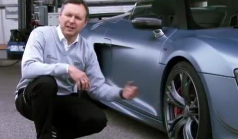 Video Audi R8 GT Spyder Promo Clip
