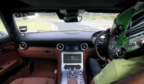 Video Chris Harris in a SLS AMG at Nurburgring Nordschleife