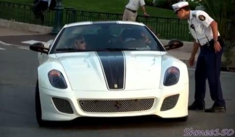 Video Ferrari 599 GTO Busted in Monaco