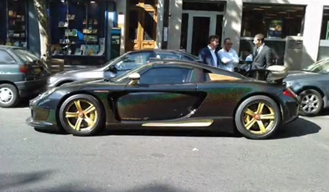 Video Gemballa Mirage GT Gold Edition Owned by Samuel Eto'o