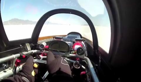 Video Speed Demon's Record Winning Run at Bonneville