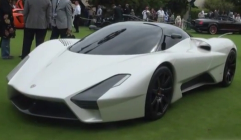 Video SSC Tuatara at Pebble Beach 2011