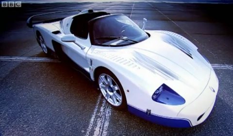 Video Top Gear's Jeremy Clarkson Tests the Maserati MC12