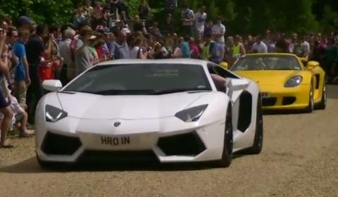 Video Wilton House Classic Rendezvous & Supercars 2011 - Part 1