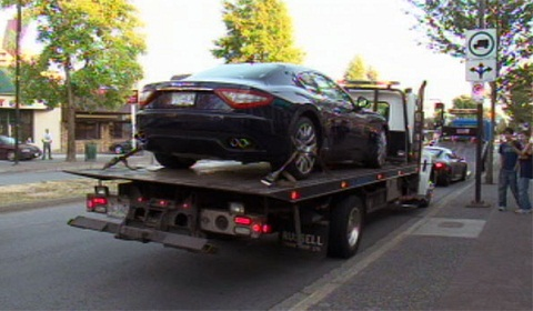 13 Supercars Impounded In Canada