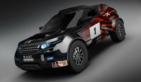 Range Rover Evoque Will Enter Dakar Rally with BMW power