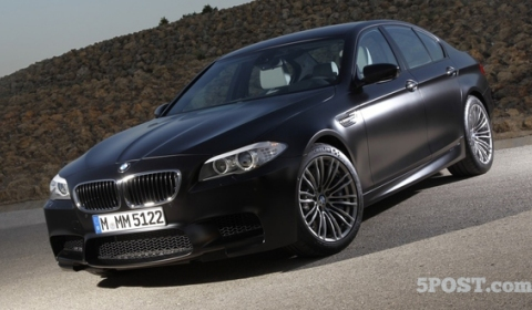 2012 BMW F10M M5 Individual Frozen Black