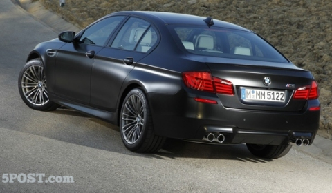 2012 BMW F10M M5 Individual Frozen Black 01