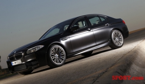 2012 BMW F10M M5 Individual Frozen Black 02