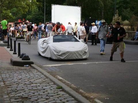2013 Audi R8 On Iron Man 3 Film Set