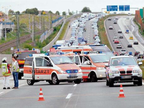 Car Crash: Dodge Viper on the Autobahn