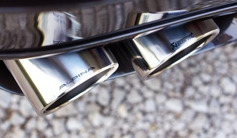 Alpina B6-Bi Turbo With Akrapovic Exhaust
