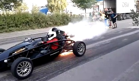 Ariel Atom Engine Explosion