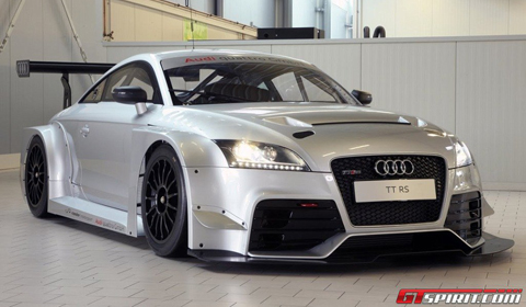 Audi Tt For Sale >> Audi Tt Rs Race Car Goes On Sale Gtspirit