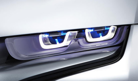 BMW Develops Laser Headlights