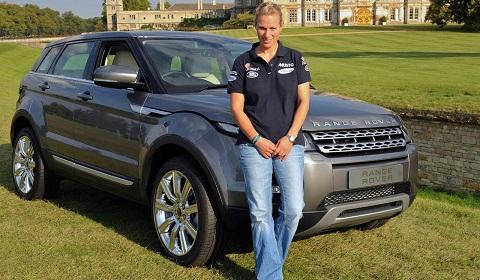 First Range Rover Evoque Delivered To Zara Phillips