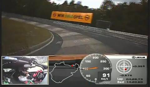 Lexus LFA Nürburgring Edition Laps Nordschleife in 7:14