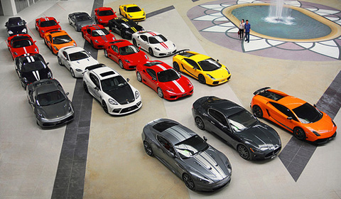 Photo of the Day: Malaysian Supercar Collection
