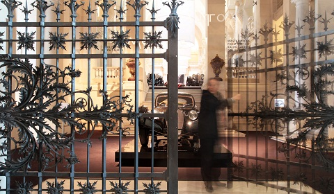 Ralph Lauren Car Collection In Paris
