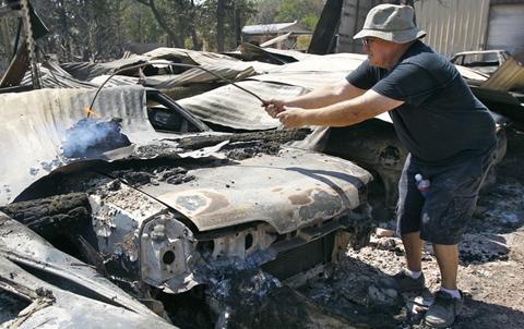 Texas Fire Destroys 175 Classic Cars
