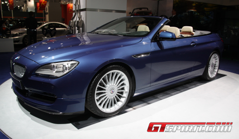 IAA 2011 Alpina B6 BiTurbo Convertible