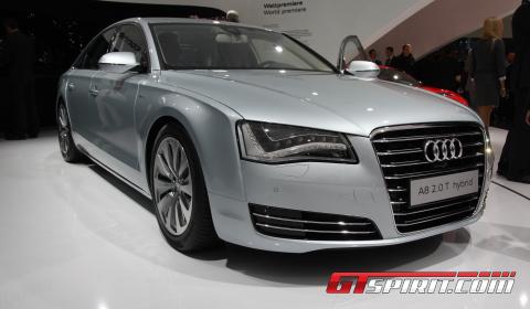 IAA 2011 Audi A8 Hybrid