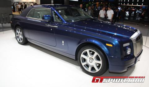 IAA 2011 Johnny English Reborn Rolls-Royce Phantom Coupé V16