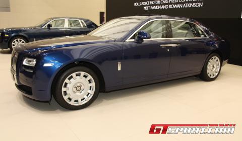 IAA 2011 Rolls-Royce Ghost Extended Wheelbase