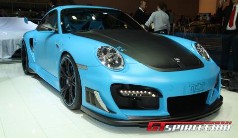 IAA 2011 TechArt GTStreet RS Based on Porsche 911 GT2 RS