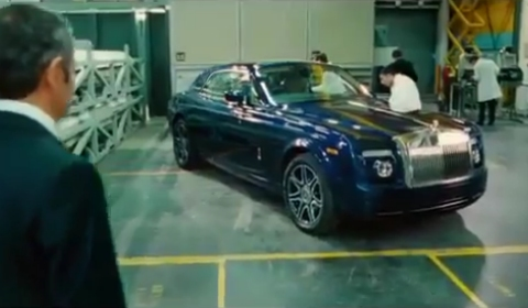 Johnny English Reborn Rolls-Royce Phantom Coupé V16 at IAA 2011