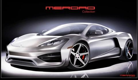 Official Merdad Collection McLaren MP4-12C Mehron GT