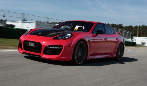 Official TechArt Power Kits for Cayenne Turbo and Panamera Turbo