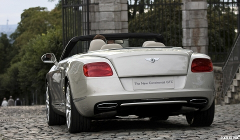 Photo Of The Day 2012 Bentley Continental GTC at Bensberg Classics