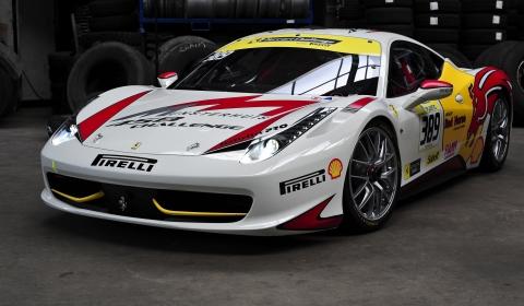 Photo Of The Day Ferrari 458 Challenge By Patrick Quispel Gtspirit
