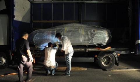 Rimac One Concept on Its Way to IAA 2011 in Frankfurt