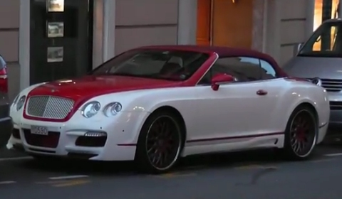 Spotted ASI Bentley Continental GTC Convertible in Monaco