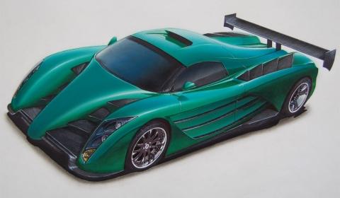 US Company Maxximus Plans Prodigy Supercar