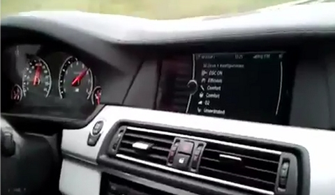 Video 2012 BMW F10 M5 High Speed up to 300km/h