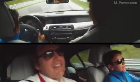 Video 2012 BMW F10M M5 - Nurburgring Taxi Lap 2011